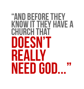 Does-Your-Church-Need-God