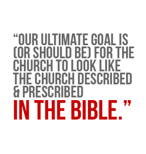 Our Goal Is The Bible
